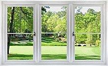 HQQPA Adesivo Effetto 3D Adesivo murale finestra