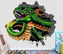 HQQPA Adesivo Effetto 3D Adesivo murale S Adesivo