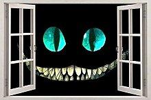 HQQPA Adesivo Effetto 3D Adesivo per finestra