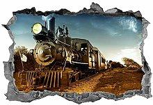 HQQPA Adesivo Effetto 3D Foto di paesaggio murale