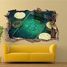 HQQPA Adesivo Effetto 3D Poster murale camera