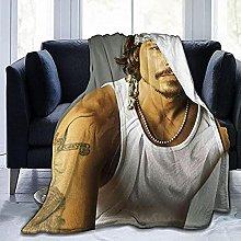 HSBZLH Johnny Depp Coperta da tiro in Pile,