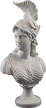 HUANYARI Desktop Sculpture Greca Dea della Guerra