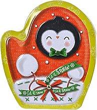 Huijieyuan - Scatola di latta natalizia con