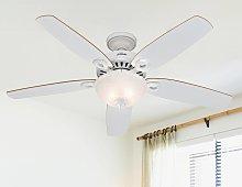Hunter Builder Deluxe ventilatore, bianco