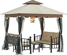 HXCD tenda romana, padiglione barbecue, padiglione