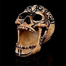 HXXyoga Home Decor Resina Tattoo Totem TOTEM Skull