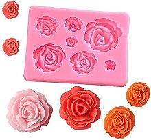 HXYA Stampo in silicone 3D per decorare torte,