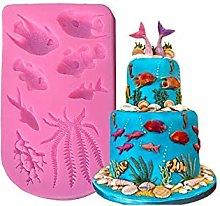HXYA - Stampo per cupcake e cioccolato, motivo: