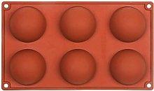 HXYA Stampo per torta in silicone a mezza sfera,
