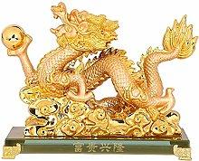 HYBUKDP sculture Cinese Statua da Collezione Feng