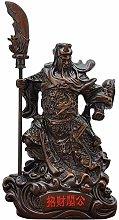 HYBUKDP sculture Fengshui Cinese Romance Eroe Gong