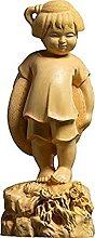 HYBUKDP sculture Figurine Zen Ornaments Boxwood