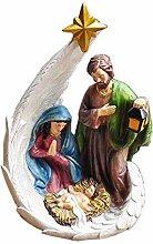 HYBUKDP sculture Home Scultura Cattolica Gesù