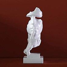 HYBUKDP sculture Opere di arenaria in resina