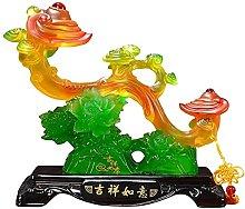 HYBUKDP sculture Zen figurine casa scultura