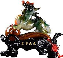 HYBUKDP sculture Zen Figurine Home Scultura