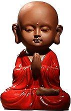 HYBUKDP sculture Zen figurine Home Statue Piccola