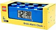 HYK Blue Brick Kids - Sveglia con illuminazione