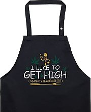 I LIKE TO GET HIGH - Grembiule da cucina con