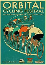 ianmaxingkong Retro Adesivo da Parete Bicicletta