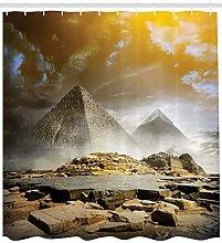Icone culturali antiche egiziane Tenda da doccia