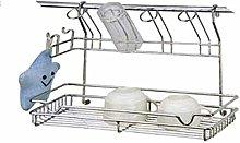 Idea cucina o bagno: Completo in metallo cromato