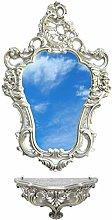 Ideacasa Completo Specchio e Mensola Consolle