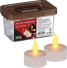 Idena 38205 - Candele elettriche a LED, in scatola
