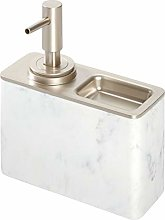 iDesign Dispenser sapone liquido ricaricabile con