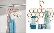 iDesign Organizer armadio, Porta sciarpe con 18