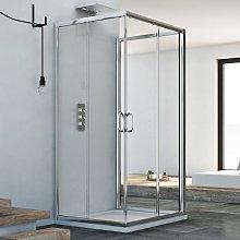 Idralite - Box doccia 3 lati scorrevole vetro