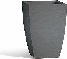Idralite - Vaso Con Sottovaso Aloe In Resina