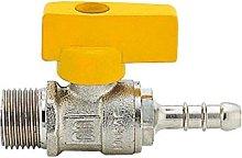Idro Bric K0338 BM Rubinetto Portagomma per Gas