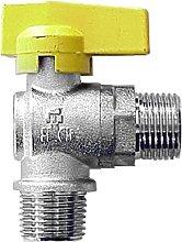 Idroblok Idroblock 06069201 Rubinetto per Gas,
