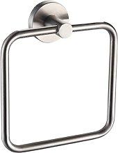 Idrobric - Porta salviette ad anello in acciaio