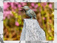 IDYL Rottecker Scultura in bronzo per uccelli
