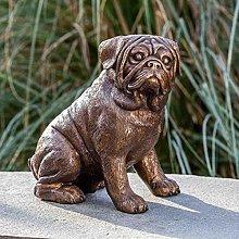 IDYL - Scultura in bronzo a forma di carlino   29