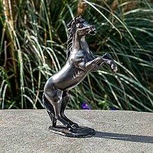IDYL - Scultura in bronzo a forma di cavallo, 24 x