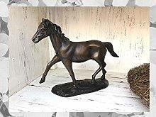 IDYL - Scultura in bronzo a forma di cavallo con
