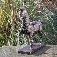 IDYL - Scultura in bronzo a forma di cavallo