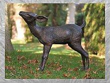 IDYL - Scultura in bronzo a forma di cervo   64 x