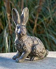 IDYL - Scultura in bronzo a forma di coniglio in
