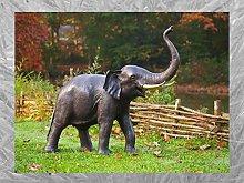 IDYL - Scultura in bronzo a forma di elefante, 134