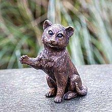 IDYL - Scultura in bronzo a forma di gattino
