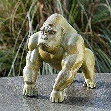 IDYL - Scultura in bronzo a forma di gorilla