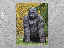 IDYL - Scultura in bronzo King Kong   121 x 60 x