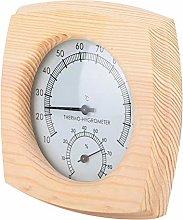 Igrometro della stanza di sauna, durevole LCD