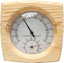 Igrometro Termometro in legno Sauna Accessori