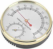 Igrotermometro per Sauna, quadrante in Metallo
